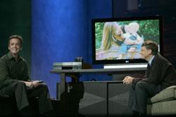 Media Center Launch in LA with Bill Gates