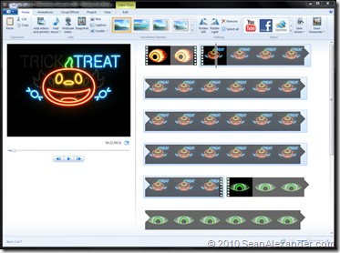 Halloween Movie Maker